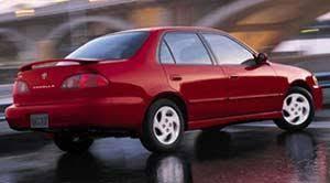 2001 toyota corolla le review 2001 toyota corolla specifications car specs auto123