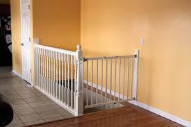 diy white baby safety gate for stairs design ideas with amazing