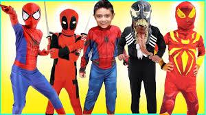 new kids costumes runway show spiderman halloween disney marvel