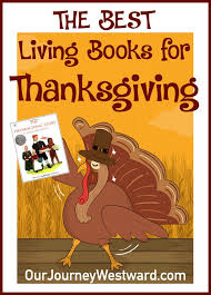 thanksgiving living books for elementary students