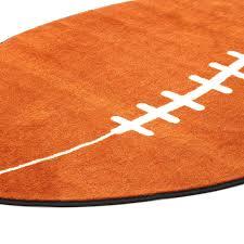 Sports Area Rug Rugs Shape Football Sports Area Rug Reviews Wayfair