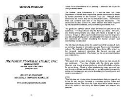 funeral homes prices pricing ironside funeral home inc ironside funeral home inc