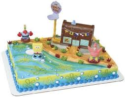 spongebob cake toppers spongebob cake toppers cake pictures