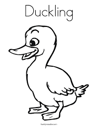 coloring duckling coloring pages ideas