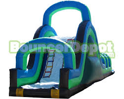 water slide blow up giant blow up water slide with slip and pool