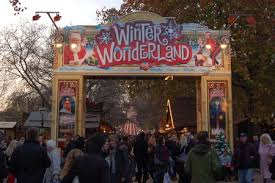 the hyde park will host a large amusement park during