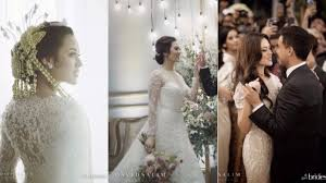 wedding dress raisa 3 gaun pengantin raisa buatan lokal hingga internasional viva