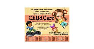 child care flyers u0026 programs zazzle