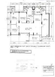 Maisonette Floor Plan Hdb Flat Types 3std 3ng 4s 4a 5i Ea Em Mg Etc Teoalida