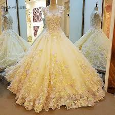 ls00109 luxury wedding dress for bridal beading ball gown 3d