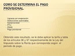 tablas y tarifas isr pagos provisionales 2016 presentación maria isabel sanches r equipo 2