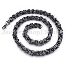 titanium link necklace images New style men 39 s titanium necklace chain titanium jewelry shop jpg