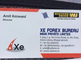 xe forex bureau india pvt ltd photos arera colony bhopal pictures
