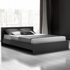 King Platform Bed Frame Modern California King Platform Bed Vine Dine King Bed