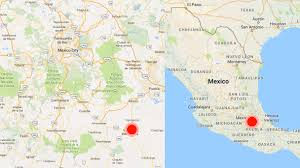 Mexico City World Map by 7 1 Magnitude Quake Kills 104 As Buildings Collapse In Mexico