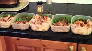 bodybuilding lunch for the whole week youtube