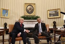 election 2016 donald trump meets barack obama obama u0027s face as he