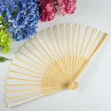 fan favors engraved wooden wedding fan bomboniere personalized favors