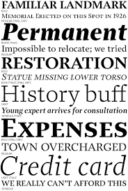 font bureau fonts prensa by cyrus highsmith via font bureau type typography