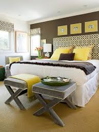 gray and brown bedroom 46 real life bedrooms that wow brown walls yellow gray bedroom