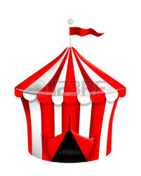 7 407 circus tent stock vector illustration and royalty free