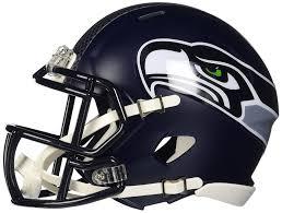 amazon com riddell mini football helmet nfl speed seattle