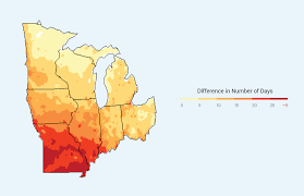 Map Of The Midwest Midwest National Climate Assessment