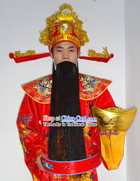 costume new year lunar new year cai shen ye costume for