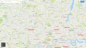 London On Map Security What Are The Most Dangerous Areas Of London North Of