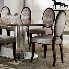 large italian marble oval dining table set juliettes interiors