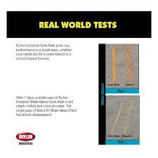 krylon a03612004 quik mark water based inverted marking paint