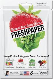 fresh fruit delivery monthly fenugreen freshpaper produce saver sheets kitchen