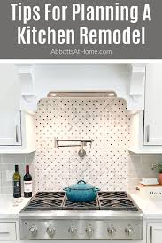 how to start planning a kitchen remodel planning a kitchen remodel layout and tips in 2021