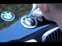 bmw emblem replacement