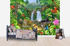 rainforest harmony wall mural photo wallpaper photowall