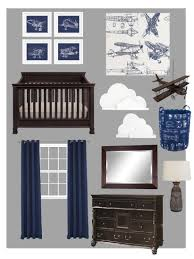 Plane Themed Bedroom by Airplane Themed Boy Bedroom Mood Board How To Nest For Less