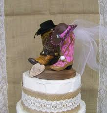 cowboy wedding cake toppers rustic cake topper his and western cowboy boots wedding cake