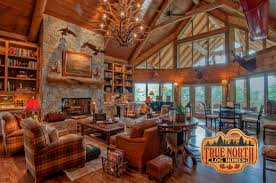 true north log homes built the largest