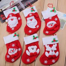 cute christmas silverware holder kitchen christmas stocking