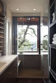 92 best bathroom ideas images on pinterest bathroom ideas room earth themed bathroom with the view of nature from a large window small bathroomsmodern bathroomssmall narrow bathroomsmall bathroom designsupstairs