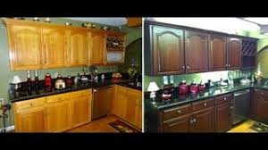 how to restain cabinets the same color how to do it yourself kitchen cabinet color change no stripping and cheap refinishing
