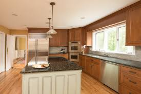 Designer Kitchen And Elegant Custom Cherry Cabinets  Ackley - Kitchen with cherry cabinets