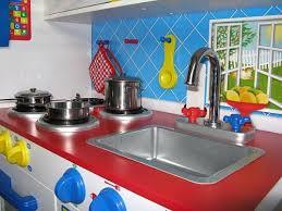 kidkraft island kitchen modern children s kitchen sets kidkraft deluxe let s cook any