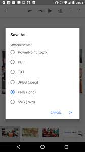 google sheets and slides for android updated with support for more