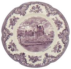 johnson brothers britain castles lavender dinner plate
