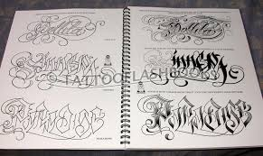 tattooflashbooks com big sleeps letters to live by lettering