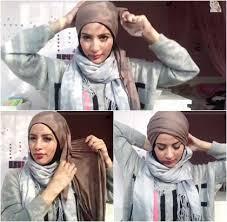 tutorial turban sederhana tutorial hijab turban tanpa peniti dan tak bertumpuk