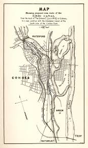 Map Of Albany New York by Erie Canal Maps