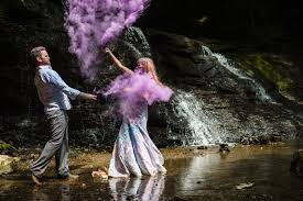 trash the dress with paint powder gabrielle u0026 eddie pittsburgh