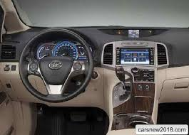 Venza Interior Announced Russian Cost 2018 2019 Toyota Venza Cars News Reviews